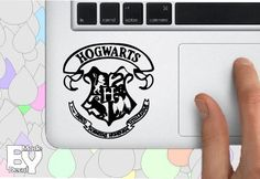 Harry Potter Hogwarts Palm rest Vinyl Decal for by MadeByDecal, $7.90