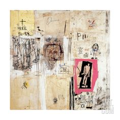 Big Shoes 2 Giclee Print by Jean-Michel Basquiat at Art.com