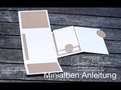 Minialben Anleitung in Bild und Ton - Video Tutorial