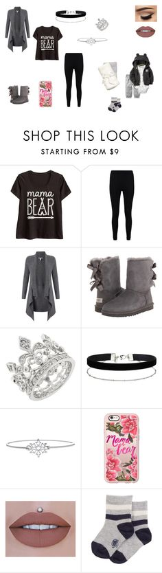 """Untitled #154"" by b-bryant1816 on Polyvore featuring Boohoo, Autumn Cashmere, UGG, Miss Selfridge, LA Rocks and Casetify"