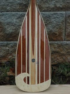 Keowee Stand Up Board Paddle from Fritz Orr Canoe on Taigan Wooden Paddle Boards, Wooden Kayak, Wooden Surfboard, Canoe Boat, Canoe And Kayak, Canoe Paddles, Kayaks, Sup Stand Up Paddle, Wooden Boat Building