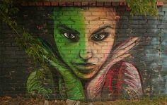Love it! Poznan street art