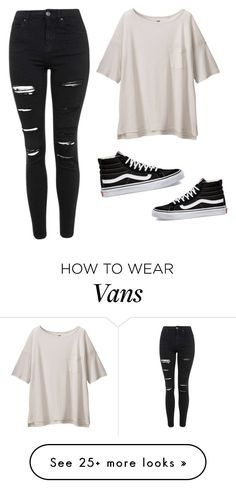 """""""By: Miquel Guasch ( my brother)"""" by love-in-the-house on Polyvore featuring Uniqlo, Topshop and Vans"""