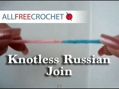 How to Make a Knotless Russian Join - YouTube