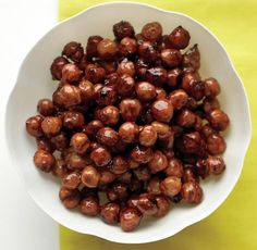 Candied Spiced Chickpeas