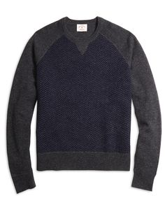 "<a href=""#pdplearnmore"" class=""lm"">The Red Fleece Collection</a><br>Crewneck sweater made from pure lambswool. Ribbed details at collar, cuffs and hem. Dry clean. Imported."