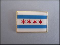 City of Chicago Square Lapel Pin