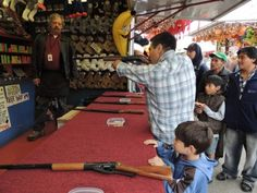 Shooting Gallery...father and son  (this is my favorite picture of the day)