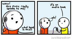 Invisible Bread comic