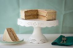 Gojee - Spice Cake with Penuche Frosting by Dramatic Pancake