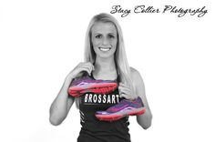 Senior, girl, track, sports, photography