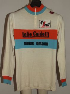 MAGLIA BICI SHIRT MAILLOT CICLISMO VINTAGE 70'S GUIDOTTI 80% LANA RICAMATA | eBay