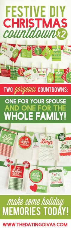 Cutest printable Christmas Countdown EVER!!! Totally saving this for next…