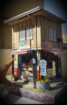 Architectural Scale, Variety Store, Urban City, Art Projects, Project Ideas, City Streets, Manila, Scale Models, Vignettes