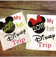 My First Disney Trip Shirt- BOY or GIRLS adult or kids by hopestafford on Etsy https://www.etsy.com/listing/237167647/my-first-disney-trip-shirt-boy-or-girls