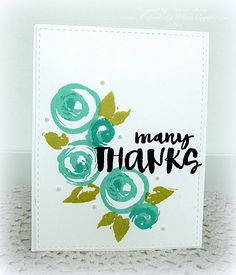 Created by Melissa using brand New Simon Says Stamp from the Color of Fun release.