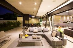 Kloof Ana House – Bedfordview, Gauteng, South Africa – The Pinnacle List Outdoor Furniture Sets, Outdoor Decor, Facade House, South Africa, Concrete, Real Estate, Patio, Steel, Architecture