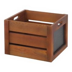 Better Homes and Gardens Wooden Decorative Crate Dimensions: x x