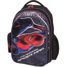 Ghiozdan Spiderman Amazing Spider, Spiderman, Backpacks, Bags, Spider Man, Handbags, Backpack, Backpacker, Bag