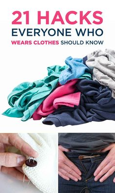 21 Clothing Hacks That Will Save You From Embarrassing Mishaps