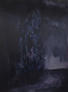 The Graduate Art Prize 2016 - Finalists - Mircea Teleaga.  Mircea Teleaga, Burning Earth, Oil on linen 1900 x 1400 mm  Vote for Mircea Teleaga here: http://www.graduateartprize.com/vote  #Art #London #ArtPrize #Artists #FineArt