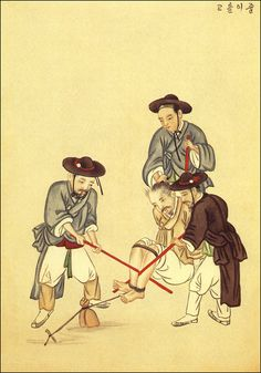 Traditional torture 옛사람의 삶과 풍류-조선시대 풍속화와 춘화