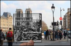 Parigi vista attraverso gli anni 40: il progetto fotografico di Julien Knez - Corriere.it