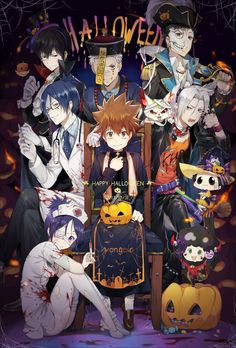 Vongola X Family (Halloween Theme)