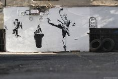 """Blek Le Rat Mural by Paris Street Artist Blek Le Rat—the """"Father of stencil graffiti""""— for The LISA Project NYC in Little Italy. More photos: Blek Le Rat, The LISA Project NYC, Street Art"""