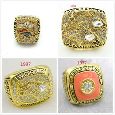 NFL Pittsburgh Steelers World Champions Gold Ring_4
