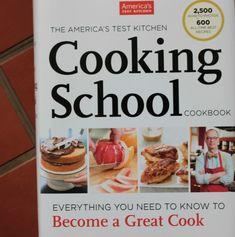 America's Test Kitchen Cooking School Cookbook Giveaway via @Brandi