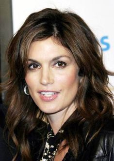 CINDY CRAWFORD hairstyle photo - 5