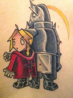 my fullmetal alchemist tattoo, inspired by the end art of brotherhood series :3 #fullmetalalchemisttattoo #fullmetalalchemist