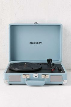 Shop Crosley Tourmaline Cruiser Bluetooth Record Player at Urban Outfitters today. We carry all the latest styles, colors and brands for you to choose from right here. Light Blue Aesthetic, Blue Aesthetic Pastel, Aesthetic Colors, Aesthetic Pictures, Record Player Urban Outfitters, Urban Outfitters Gifts, Iphone Bleu, Bluetooth Record Player, Crosley Record Player