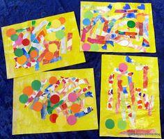 Maestra Caterina: Composizioni a collage