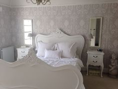Image result for bedroom painted in laura ashley pale dove grey