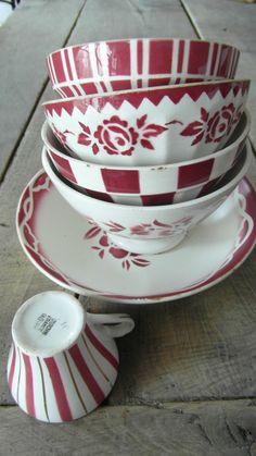 Teacups and Saucers
