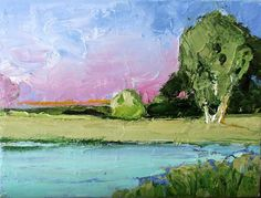 Impressionist Oil Painting Plein Air by lynnefrenchdesigns on Etsy