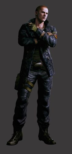 "I miss Wesker but Jake is a great successor to ""My favorite Resident Evil character""."