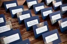 Classy place cards