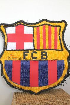 Piñatas que Ilusionan: Piñata Escudo del Barça