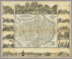 Plano La Habana 1853 (pintoresco)