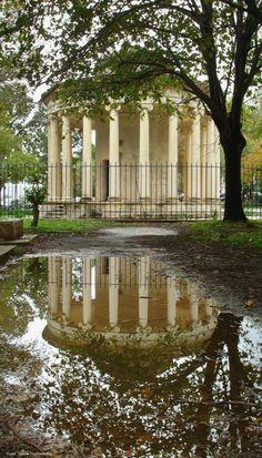 Rainy day reflections ~ Corfu (photo by Vlasis Tsonos)   @༺♥༻LadyLuxury༺♥༻