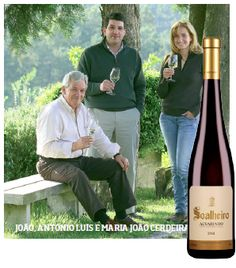 Wine producer: Soalheiro. Whenever the conversation focuses on Portuguese white wines, the main topic of conversation is the Vinho Verde region, where white wine is king, and the Alvarinho grape variety.  Over the past 20 years, Soalheiro wines and Luis Cerdeira, who is one of the oldest producers of the Monção / Melgaço subregion, are renowned for their Alvarinho wines which are elegant with mineral notes.