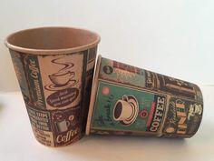 Vintage style paper cups (www.unicup.pl)