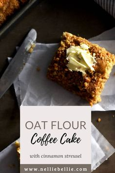 This is the classic coffee cake recipe with a yummy streusel topping that I've been using forever. I would recommend trying this recipe if you are avoiding white flour. You'll love the use of oat flour! #Glutenfree #Oatflour #Coffeecake Diabetic Desserts, Healthy Dessert Recipes, Easy Desserts, Cake Recipes, Classic Coffee Cake Recipe, Recipes With White Flour, Cinnamon Streusel Coffee Cake, Oatmeal Flavors, Brunch Items