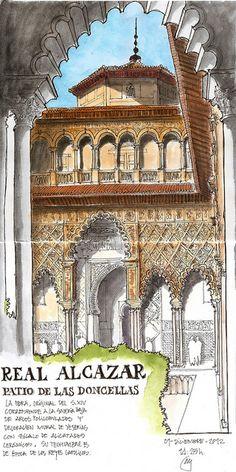 Sevilla Patio Doncellas