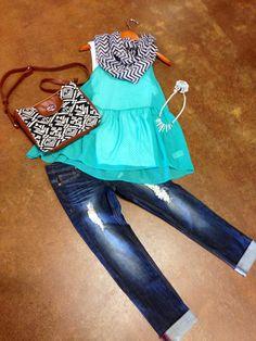 Love this entire outfit- vogue boutique.  Freeport, Il
