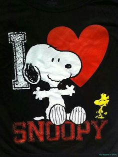Loving Snoopy