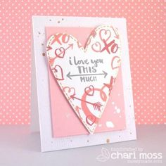 Essentials by Ellen Clear Stamps, Love You So by Julie Ebersole -
